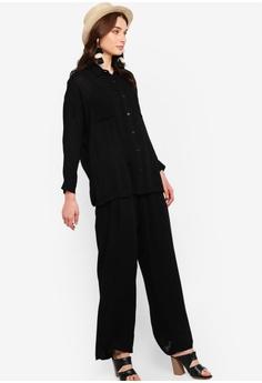 2a50ac3df66 45% OFF Zalia Self Tie Palazzo Pants RM 95.00 NOW RM 51.90 Sizes XS S M L XL