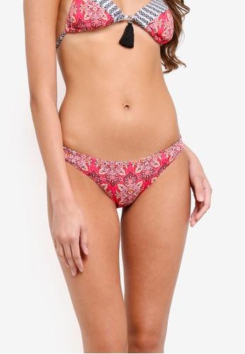 Piha red Marrakech Reversible Hipster Pants D77ECUSC304AF3GS_1