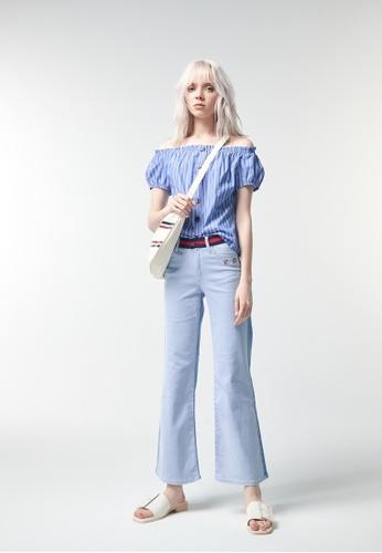 iROO blue Denim Jeans ECD43AAE06D238GS_1