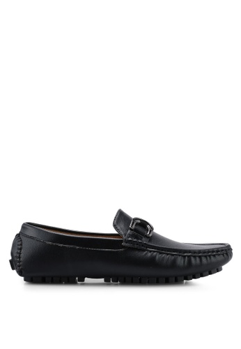 High Cultured black Casual Loafers-337 F24B9SHF21F374GS_1