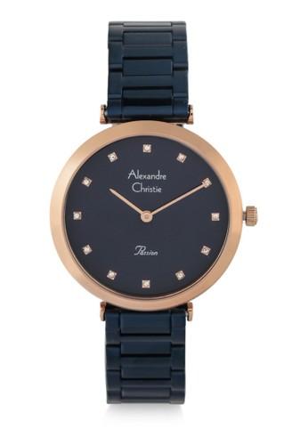 Alexandre Christie navy Alexandre Christie Jam Tangan Wanita - Blue Rosegold - Stainless Steel - 2746 LHBURBU 6DA15ACFFD563BGS_1
