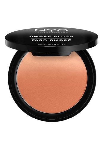 NYX Professional Makeup beige NYX Professional Makeup Ombre Blush - STRICTLY CHIC 68F82BEE8927B8GS_1