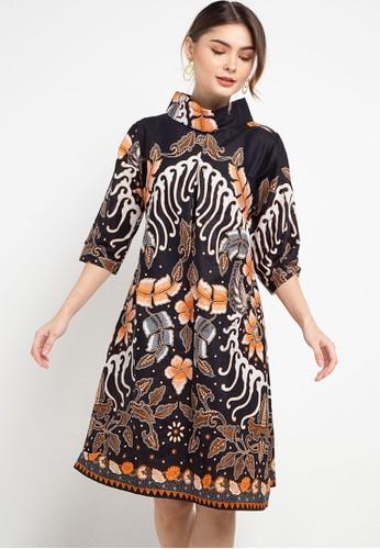 Batik Suryamas multi Dress Porang 54B0BAA44CC5DBGS_1