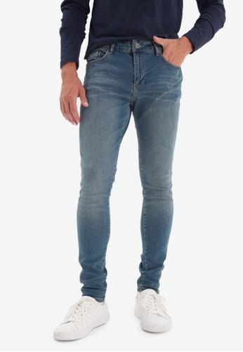 Trendyol blue Skinny Fit Jeans 036C1AAE57476AGS_1