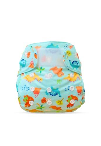 Cheekaaboo orange Baby Unisex 2-in-1 Reusable Diaper 813EFKCEEEB186GS_1