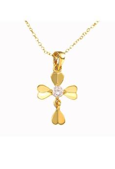 Martha Cross Necklace