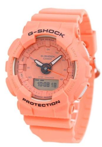 CASIO orange Casio G-Shock S Series Pastel Orange Resin Watch 23E10ACF8A2798GS_1