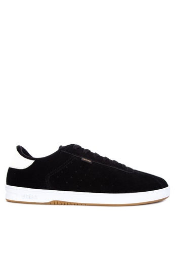 Etnies black The Scam Sneakers 42F50SH2E2153AGS_1