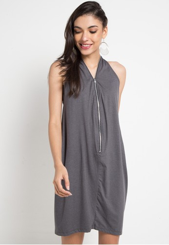 Religion grey Multiplay Dress B88E5AAC6CD50FGS_1