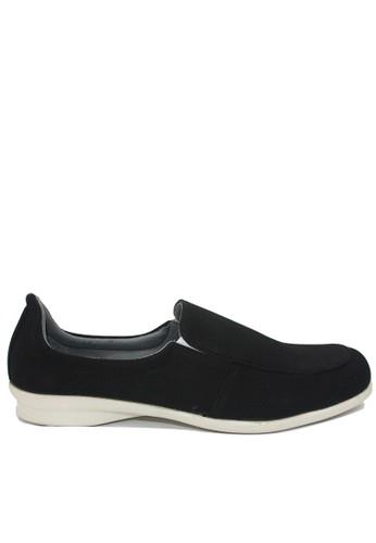 Dr. Kevin black Dr. Kevin Women Flat Shoes Slip On 43207 - Black DR982SH50FUVID_1