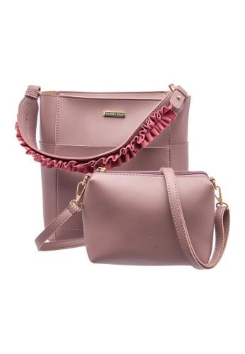 Tracey Star Pink Hannah Korean Style Handbag Dea68ac5b1440egs 1