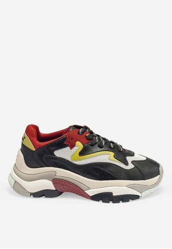 ASH black Atomic - Black Mesh weaving Low-Top Sneakers 66464SHC1A858AGS_1