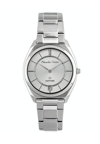 Alexandre Christie silver Alexandre Christie Jam Tangan Wanita - Silver - Stainless Steel - 8550 LDBSSSL 0F858AC553E1AAGS_1