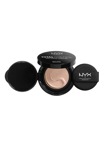 NYX Professional Makeup beige NYX Professional Makeup Total Control Mesh Cushion Foundation -LIGHT 22912BEE501463GS_1