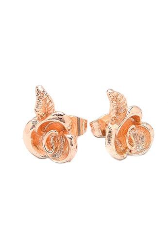 Jewelplace gold Flower Bangkok  Stud Earrings JE882AC0JFJOPH_1