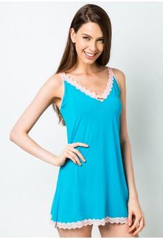 Emily Sheer Micro Chemise Lingerie & Sleepwear