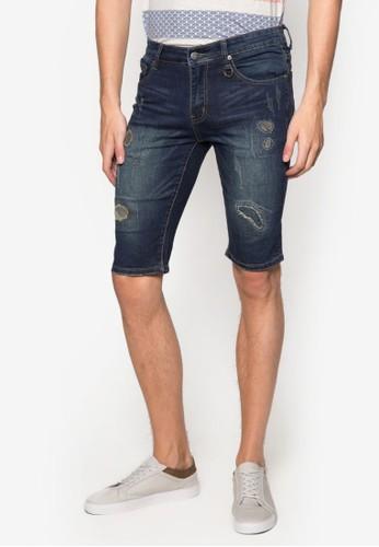 刷破丹寧短褲, 服esprit地址飾, 長褲