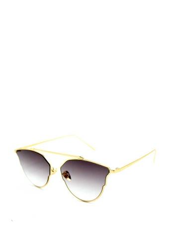 64c6084d5 Peculiar and Odd black Premium Cats Eye Aviator Sunglasses 5904  1F5CFGLA56322EGS 1