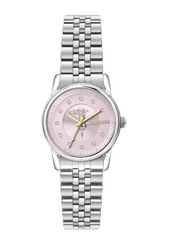 Trussardi silver Trussardi T- Joy Silver Metal Band Ladies' Watches R2453150504 8658CAC3B6A925GS_1