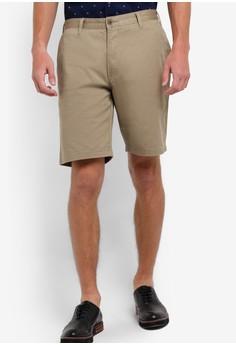 【ZALORA】 Afro 簡約棉質短褲