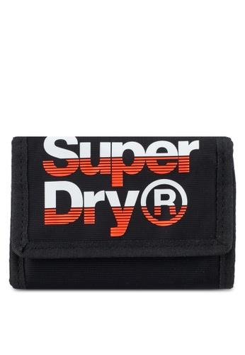Superdry black and orange Lineman Wallet 2DB7DAC5CF29D5GS_1