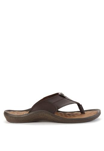 Watchout! Shoes brown Sandals Thongs WA021SH0VXYNID_1