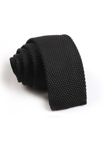 Praise black Black Knit Tie PR067AC12SAHSG_1