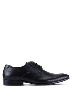 c1e81dbb82f ALDO black Eegelwin Derby Shoes C08DDSH7331EE9GS 1