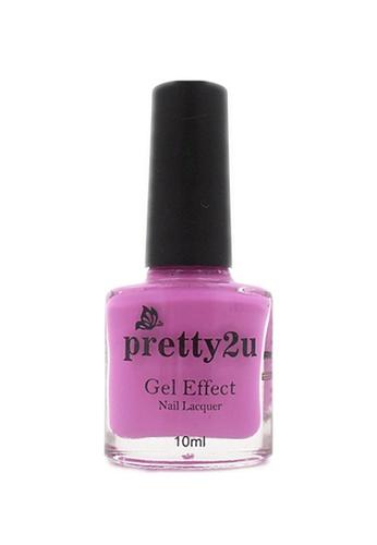 Pretty2u purple Gel Effect Nail Lacquer 20 PR716BE90WRLMY_1
