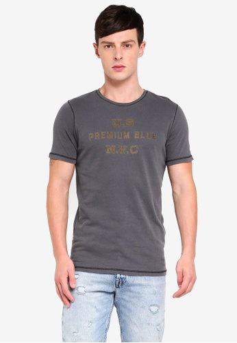 Jack & Jones 黑色 短袖T恤 2D8C5AAB5079C3GS_1