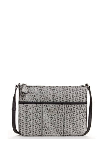 45dda9fd94c3 Buy Guess Mcgill Mini Top Zip Crossbody Bag Online on ZALORA Singapore