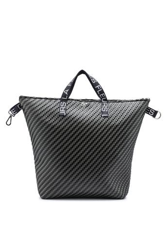 La Fille Des Fleurs black Anita Top-Handle Backpack 2853EACE8B9102GS_1