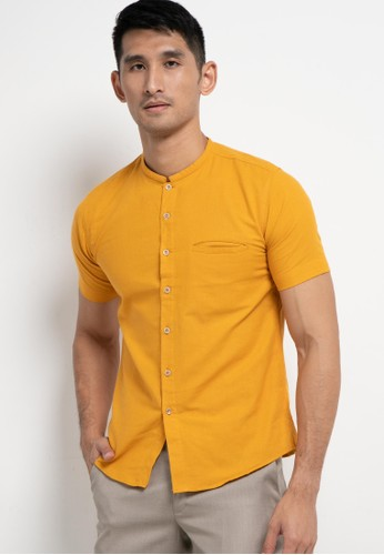 Introspect clothing yellow Kemeja Koko D58CAAAEC67493GS_1
