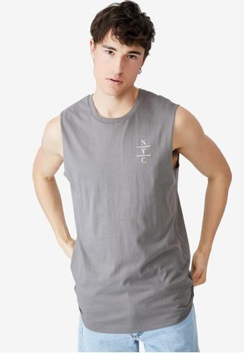 Cotton On grey Tbar Muscle Tank Top 84580AA35DF5EAGS_1