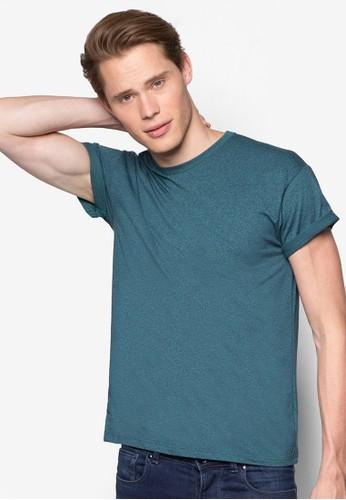 反褶短袖esprit服飾TEE, 服飾, T恤