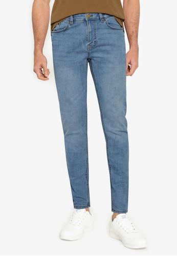 Springfield blue Medium-Light Wash Skinny Jeans EFFB7AABF93915GS_1