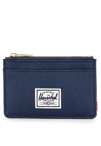 Herschel navy Oscar Wallet A25E8ACB37142AGS_1