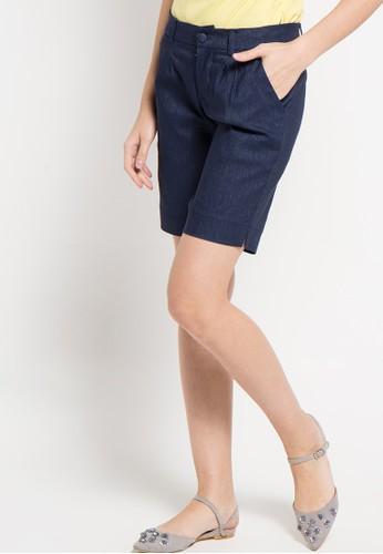 Raspberry navy Nike Short Pants RA572AA26ZPHID_1