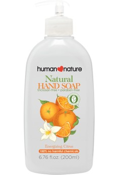 Natural Hand Soap In Energizing Citrus