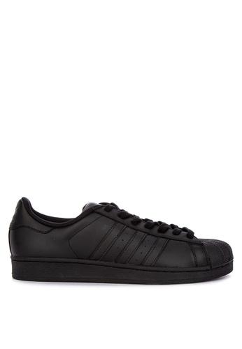 adidas black adidas originals superstar foundation 94DACSH590AA47GS_1