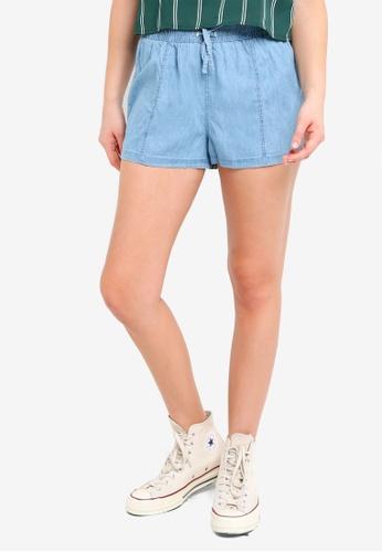 Cotton On blue and multi Lana Shorts 170FCAA0F0E8BCGS_1