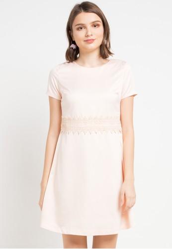 EPRISE pink Vera Dress 04A69AACFBB5A2GS_1