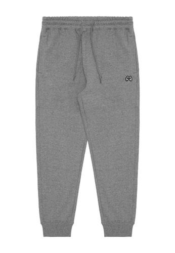 Mini cream grey MNC Logo joggers 29B89AAD2E6B1BGS_1