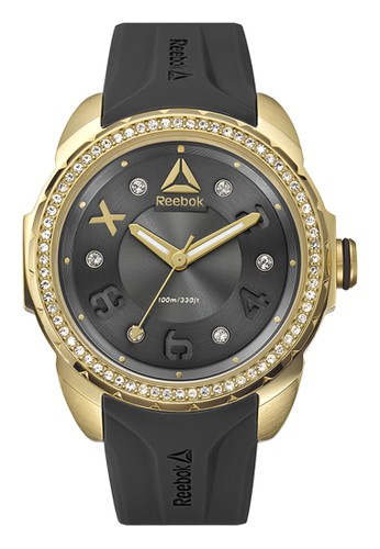 Reebok Watch black Sporty Women's Watches RB RD-IMS-L2-S2IB-B2 E31BEAC1168C55GS_1