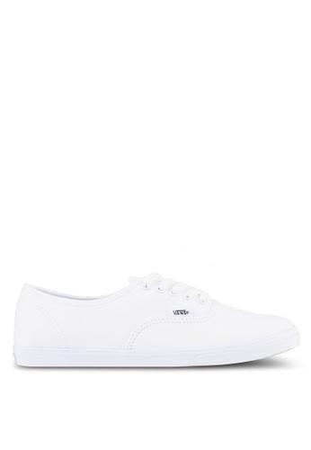 VANS white Authentic Lo Pro Sneakers VA142SH0SWO3MY_1