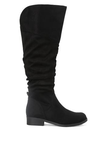 London Rag 黑色 及膝长统靴 SH1732 F1232SH542C643GS_1
