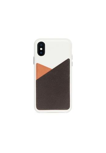 OBX multi Irish Layered iPhone X/Xs Patchwork Leather Snap-On case 7B201ACDBE279CGS_1
