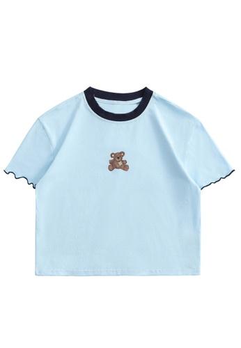 Twenty Eight Shoes Slim Printed Short Sleeve T-shirt HH0070 62135AA184E915GS_1
