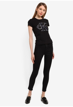 171fb7672c1506 40% OFF Calvin Klein Black Skinny Pants - Calvin Klein Jeans RM 565.10 NOW  RM 338.90 Sizes W2730