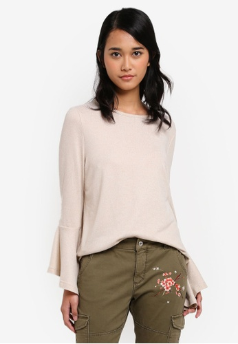 ONLY beige ONLY ONE Ida Spring Pullover DBBE3AA32BA1CEGS_1